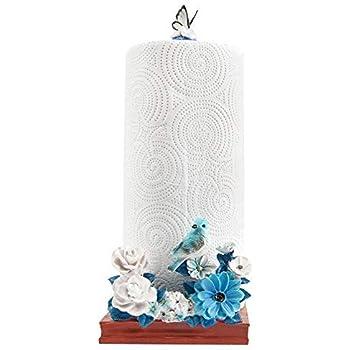 paper towel holder blue bird countertop stand alone paper towel holder kitchen. Black Bedroom Furniture Sets. Home Design Ideas