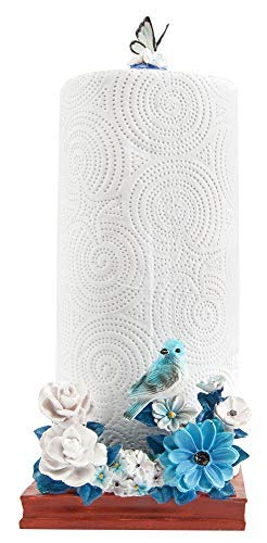 (Paper Towel Holder - Blue Bird Countertop, Stand Alone Paper Towel Holder)