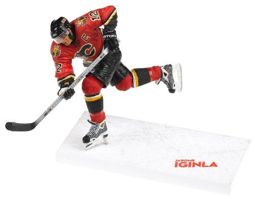 McFarlane Toys NHL Series 10: Jarome Iginla in Red Calgary Flames Uniform ()