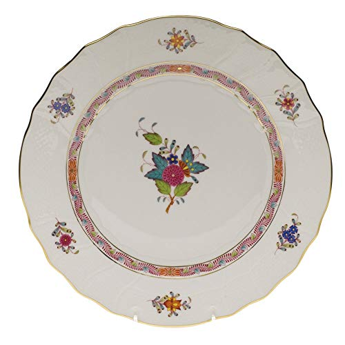 Herend Chinese Bouquet Multicolor Porcelain Dinner Plate