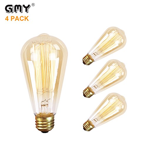 GMY Lighting Filament Teardrop Squirrel
