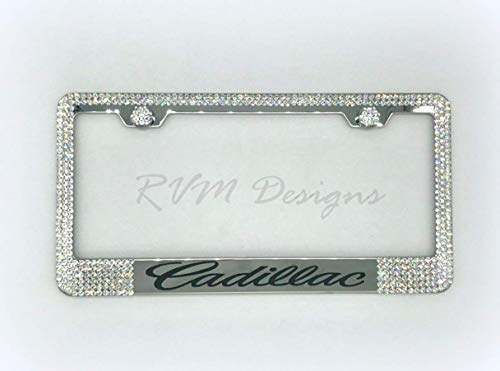 License Plate Frame made with Swarovski Crystals - Car Jewelry -  RVMdesigns