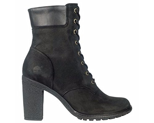Timberland Womens Earthkeepers Glancy 6'' Boot Black Majority Leather with Synthetic 7.5W by Timberland