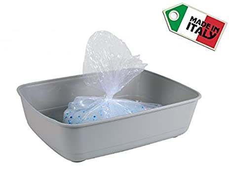 Stefanplast - 10 Bolsas higiénicas para bandeja de gatos – Bolsas de repuesto para la bandeja