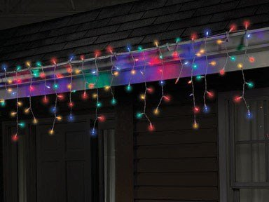 Led Multi Color Icicle Light Set