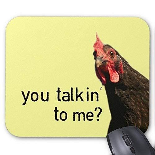 (Natural Rubber Gaming Mousepad Seamless Chicken Pattern (Mouse pad/Gaming Mouse pad))