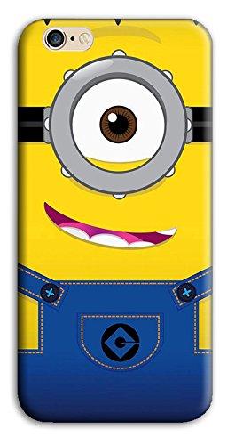 Mixroom - Cover Custodia Case In TPU Silicone Morbida Per Apple Iphone 6 6s W354 Minions
