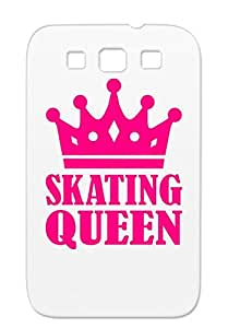 Skating Queen Pink Figure Crown Winter Winner Skate Sports Sports Speed Champion For Sumsang Galaxy S3 Case