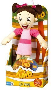 El Chavo Plush With Dvd - Popis