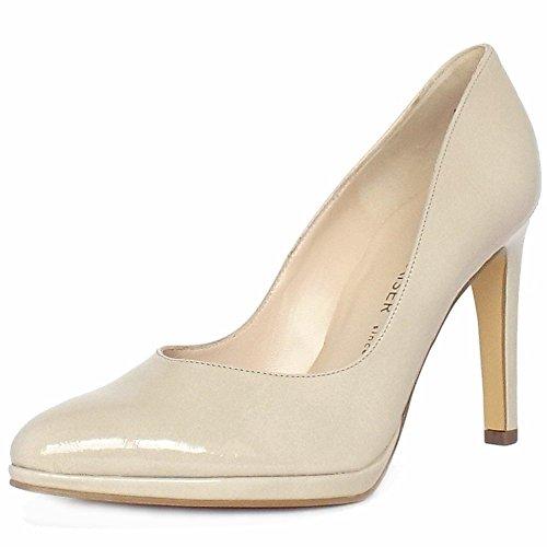 Peter Kaiser Herdi Aguja Corte Zapatos Femeninos En Patente De Lana LANA CRACKLE