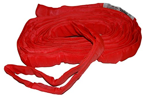 - S-Line 20-ENR5X20 Lifting Sling, 5-Inch by 20-Foot, Endless Round Sling, Red