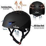 TurboSke Skateboard Helmet, ASTM & CPSC Certified