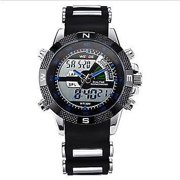Relojes Hermosos, Marca de lujo weide® lcd militar analógico luminoso digital de la fecha del ...