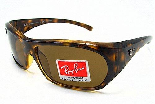 cb17792bf71 Ray-Ban 4111 Rayban Havana Brown 710 57 Polarized Sunglasses 61X15   Amazon.co.uk  Clothing