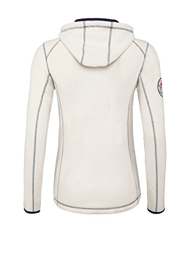 Nebulus Giacca in Pile Verden Bianco 2XL