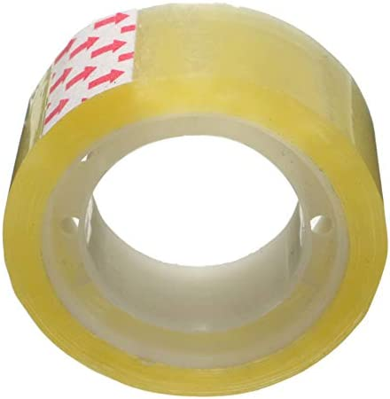 5PCS Clear Transparent Tape Sealing Sticky Tape Rolls Home Office Packing Supplies School Stationery 18mm Width