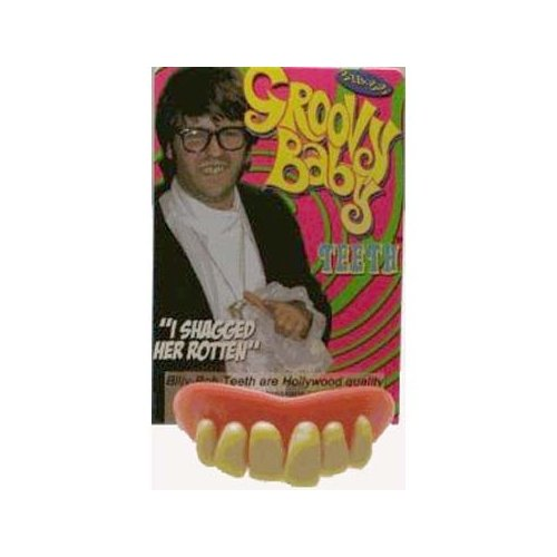 Billy Bob Fake Teeth Groovy Baby Novelty