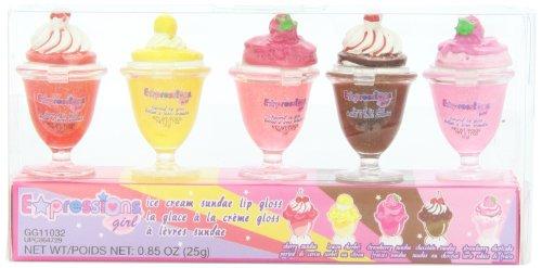 Выражения Блеск для губ Установить, Мороженое Пломбир