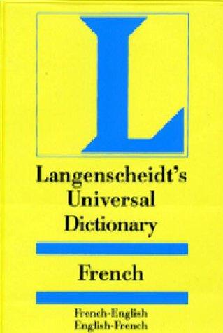 Langenscheidt's Universal Dictionary: French English English French (Langenscheidt's Pocket Dictionaries)