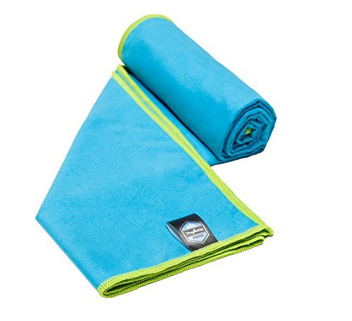Youphoria Outdoors Quick Dry Travel Towel with Carry Bag - Compact Microfiber Towel for Camping, Backpacking, Swimming, Sport and Gym - 1 Pack