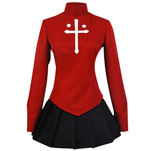 Allten Women's Cosplay Costume Fate/Zero Tohsaka Rin Dress M - Tohsaka Rin Costume