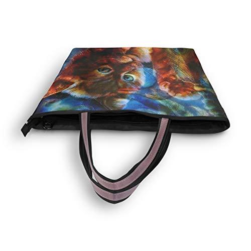 Para Multicolor Mujer De L Mnsruu Asas Bolso qZa1n6z