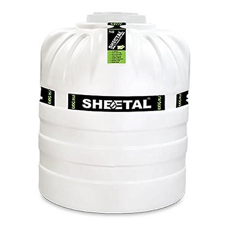 Sheetal 1000l Triple Layered Water Tank White Amazon In Home Improvement