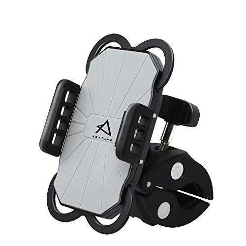 one Mount, GVDV Universal Phone Bicycle Holder 360 Degrees Rotating Cradle Clamp For Most Smartphone GPS And Other Devices, Black ()