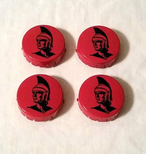 Gottlieb Mars God of War Pinball Pop/Jet Bumper Cap Set ()