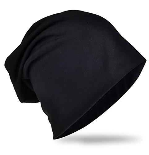 easy4fashion - Gorro de punto - para hombre negro