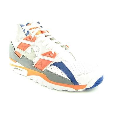 buy online 4f7c2 02c4c Amazon.com  302346-106 MEN AIR TRAINER SC HIGH NIKE WHITEORANGESTEALTHROYAL   Fitness  Cross-Training