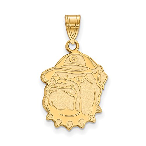 Georgetown Large (3/4 Inch) Pendant (14k Yellow Gold) by LogoArt