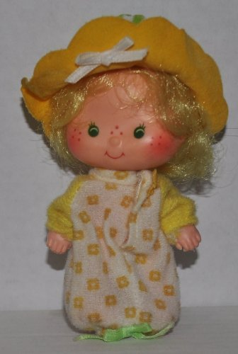 Vintage Butter Cookie (1979) (Doll, Hat, Shirt) - Strawberry Shortcake (Retired) Doll - Collectible Replacement Toy - Loose (OOP Out of Package & - Cookie Butter Shortcake Strawberry