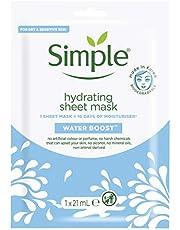 Simple Water Boost Nemlendirici Kağıt Maske 1 Adet 1 Paket (1 x 1 Adet)