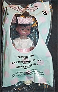 Madame Alexander Doll - Flower Girl (African American) - McDonald's Happy Meal Promo Toy 2003 #3 - Mcdonalds Madame Alexander