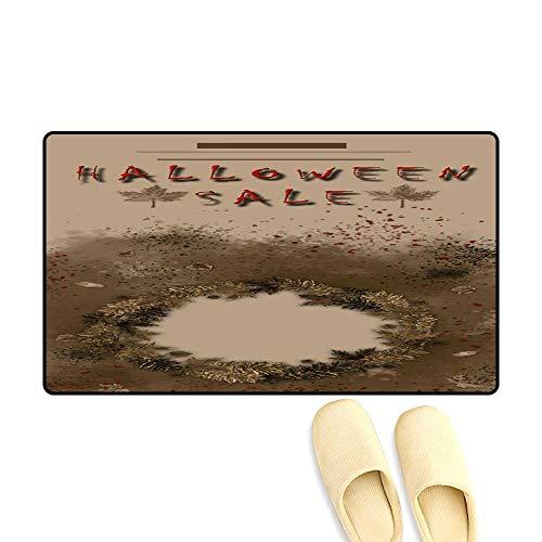 Floor Mat Pattern Halloween Sale Festival Event Announcement