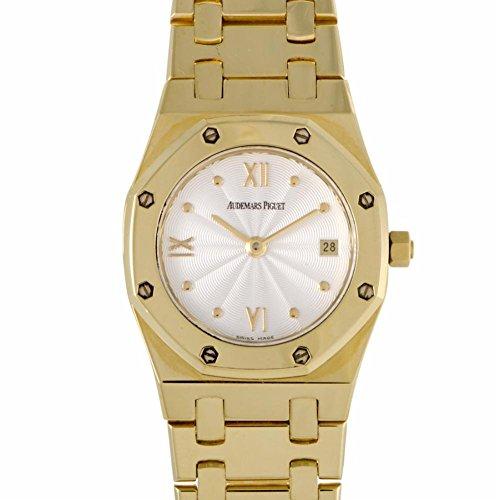 Audemars Piguet Royal Oak quartz womens Watch 67370ba.p1120ba.01 (Certified Pre-owned)