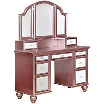 Amazon Com Acme Furniture Jasper Espresso Bedroom Vanity