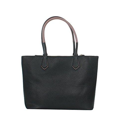 Embossed VERSACE Saffiano Noir Sac Q 5 Dis shopping JEANS qfCzBf