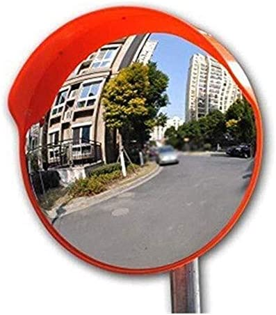 Geng カーブミラー 狭い路地丈夫なポータブル広角ミラーに適した凸安全ブラインドスポットミラー、