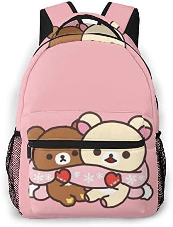 リュックサック バックパック リラックマ リュック デイパック Pc バック 遠足 大容量 通学 入園 収納バッグ 学生 子供 女の子 男の子 多機能バッグ おしゃれ プレゼント
