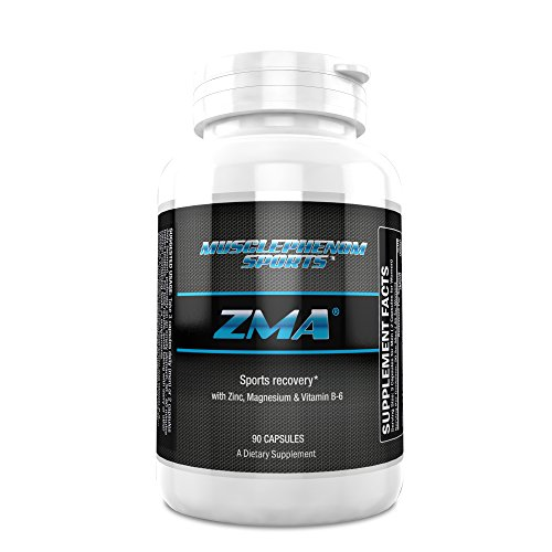 #1 ZMA® ZMA Supports Healthy Test Levels, Improves Sleep Quality, Increases Strength, Advanced Recovery From Workouts 90 Capsules
