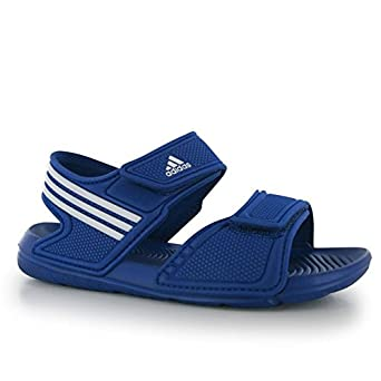 a9d55db3ce370 adidas Kids Akwah Sandals Childrens Beach Summer Pool Shoes Footwear: Amazon .co.uk: Clothing