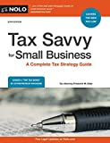 img - for Tax Savvy for Small Business: A Complete Tax Strategy Guide book / textbook / text book