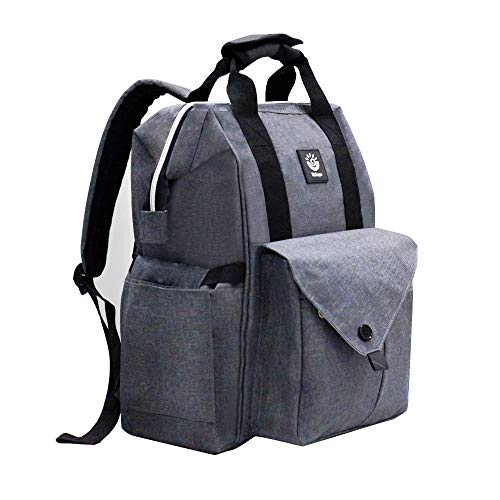 Diaper Bag Backpack Large Capacity Multifunction Waterproof Travel Bag Nappy Changing Bag Stroller Straps Stylish and Durable Baby Care for Woman Moms & Dads