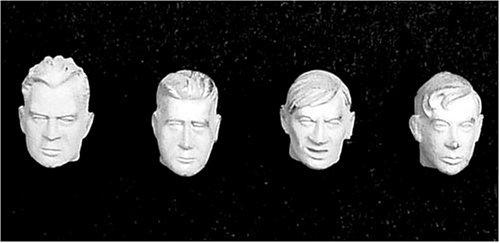 アンドレアミニチュアズ S5-A7 4 Bare Heads II