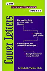 Job Notes: Cover Letters Paperback