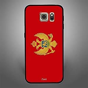 Samsung Galaxy S6 Edge Montenegro Flag