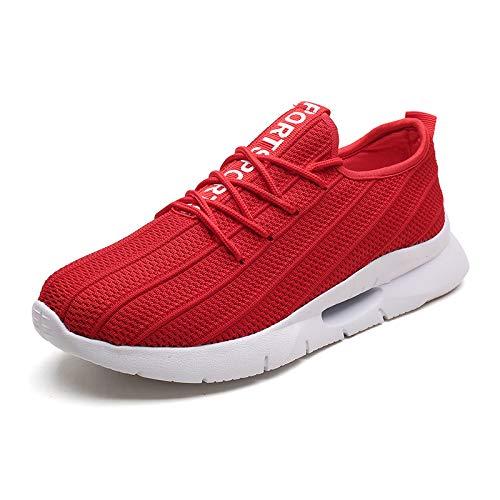 Color Hombre Los 43 Código De zapatos Transpirable Tejido Con Volador Malla Absorbe Grande Gris Golpes Para Unidades Kmjbs n7S6a6