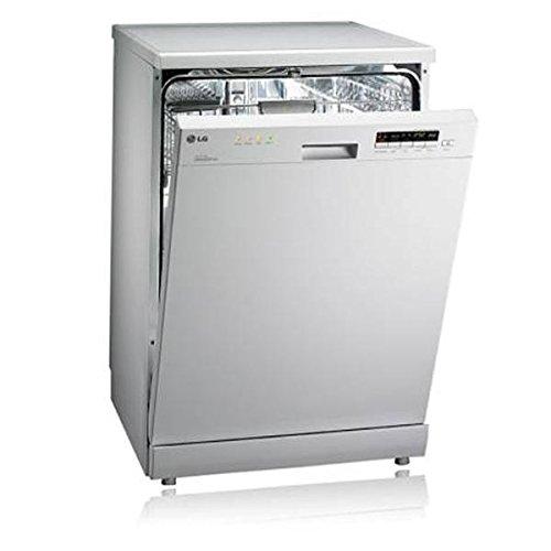 LG D1452WF Direct Drive White Dishwasher
